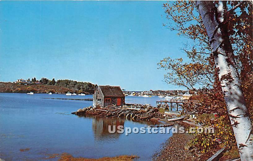 Lobster Shack on the Nubble - Bailey Island, Maine ME Postcard