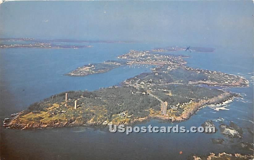 Land's End & Mackerel Cove - Bailey Island, Maine ME Postcard