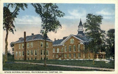 State Normal School - Castine, Maine ME Postcard