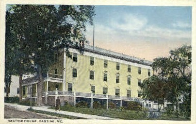 Castine House - Maine ME Postcard