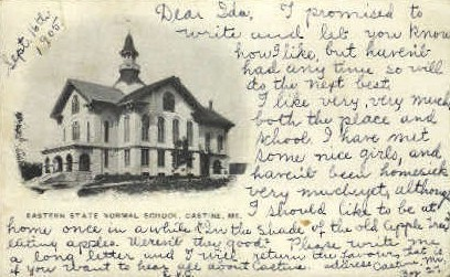 Eastern State Normal School - Castine, Maine ME Postcard