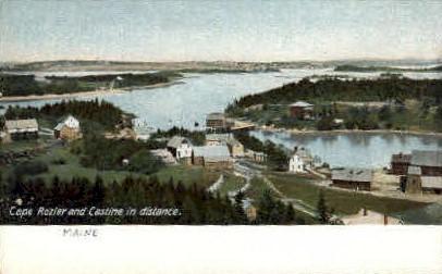 Cape Rozier - Castine, Maine ME Postcard