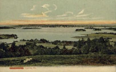 Castine, Maine, ME Postcard