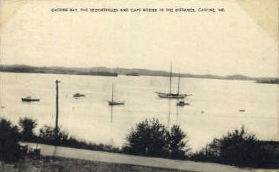 Castine Bay - Maine ME Postcard