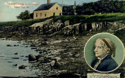 The Pearl Home, Orr's Island - Casco Bay, Maine ME Postcard