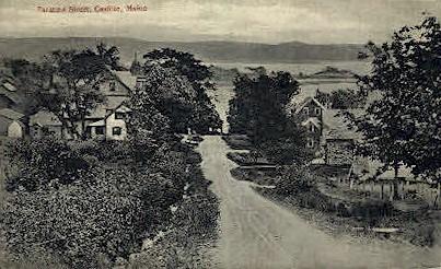 Taratine St. - Castine, Maine ME Postcard