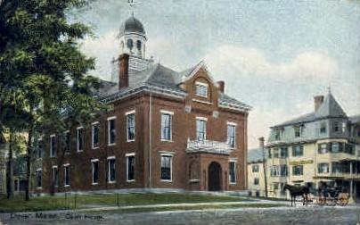 Court House - Dover, Maine ME Postcard