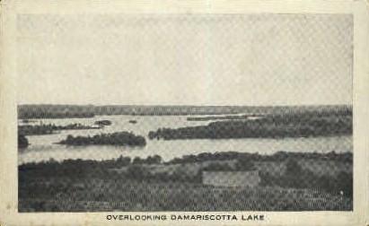Damariscotta Lake - Maine ME Postcard