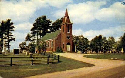 St. Patrick's Catholic church - Damariscotta, Maine ME Postcard