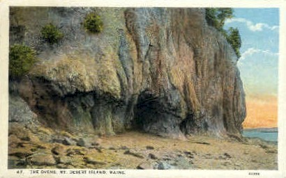 The Ovens - Mt. Desert Island, Maine ME Postcard