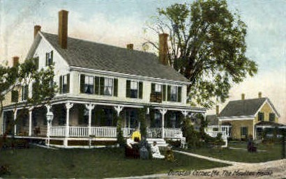 The Moulton House - Dunstan Corner, Maine ME Postcard