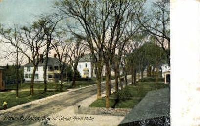 Ellsworth, Maine, ME Postcard