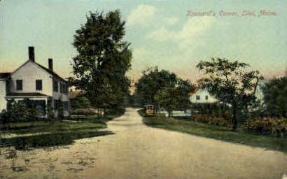 Kennard's Corner - Eliot, Maine ME Postcard