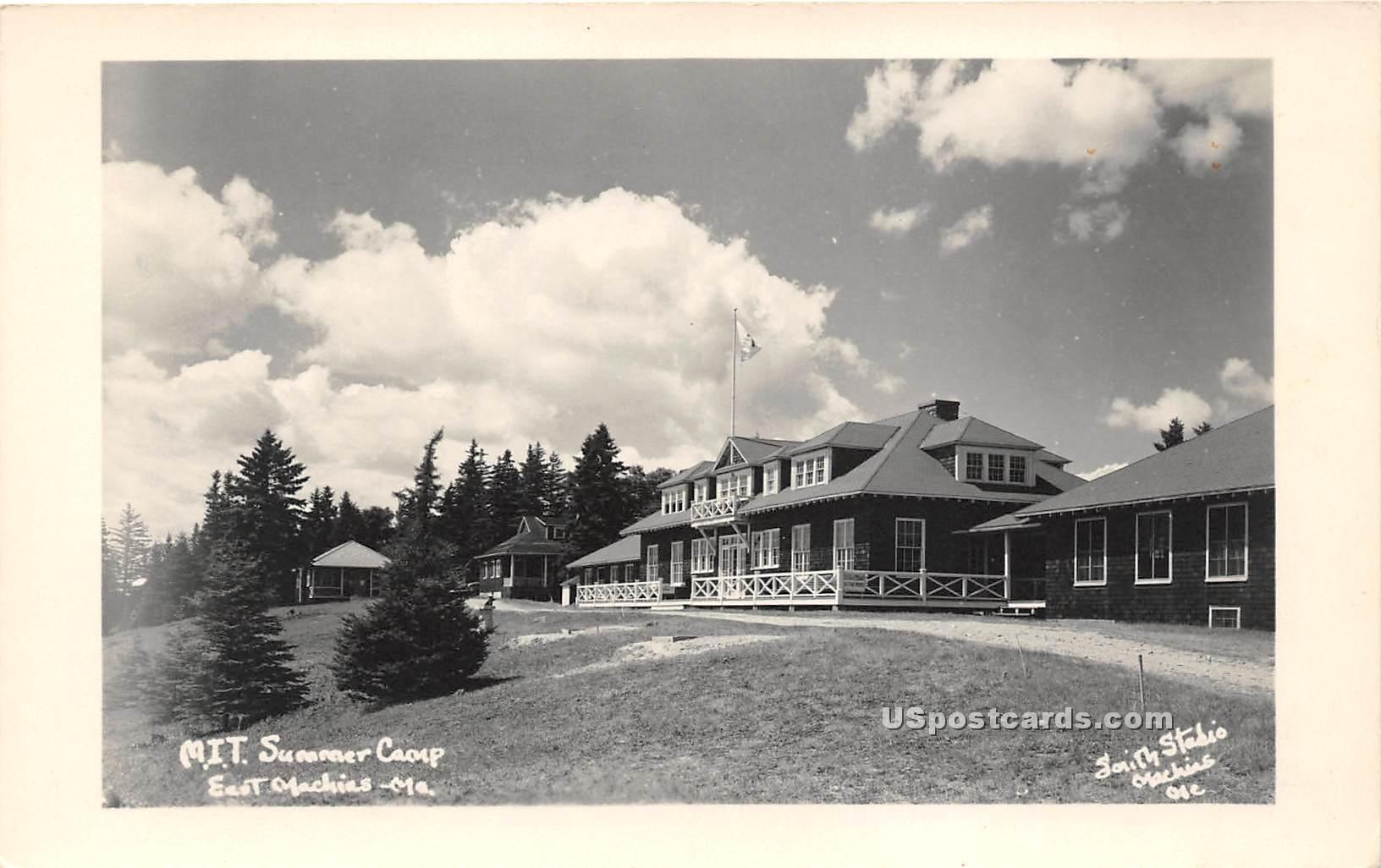 MIT Summer Camp - East Machias, Maine ME Postcard