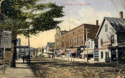 Broadway - Farmington, Maine ME Postcard