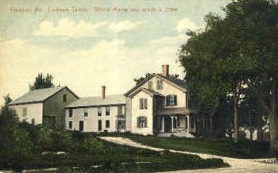 Codman Tavern - Freeport, Maine ME Postcard