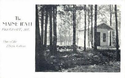 The maine Idyll - Freeport Postcard