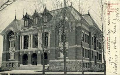 Lawrence High School - Fairfield, Maine ME Postcard