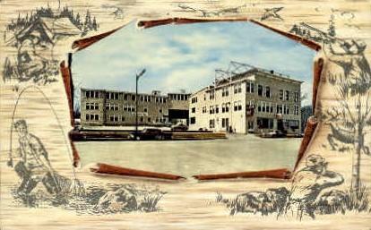 L.L. Bean Inc. - Freeport, Maine ME Postcard