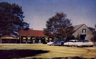 Gift Shop, Desert of Maine - Freeport Postcard