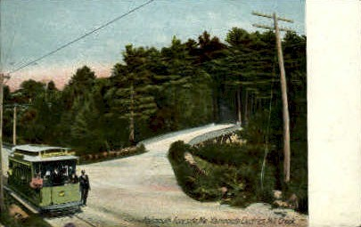 Yarmouth Electrics - Falmouth Foreside, Maine ME Postcard