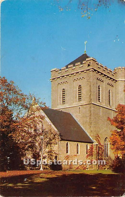 The Church of Saint Mary the Virgin - Falmouth Foreside, Maine ME Postcard