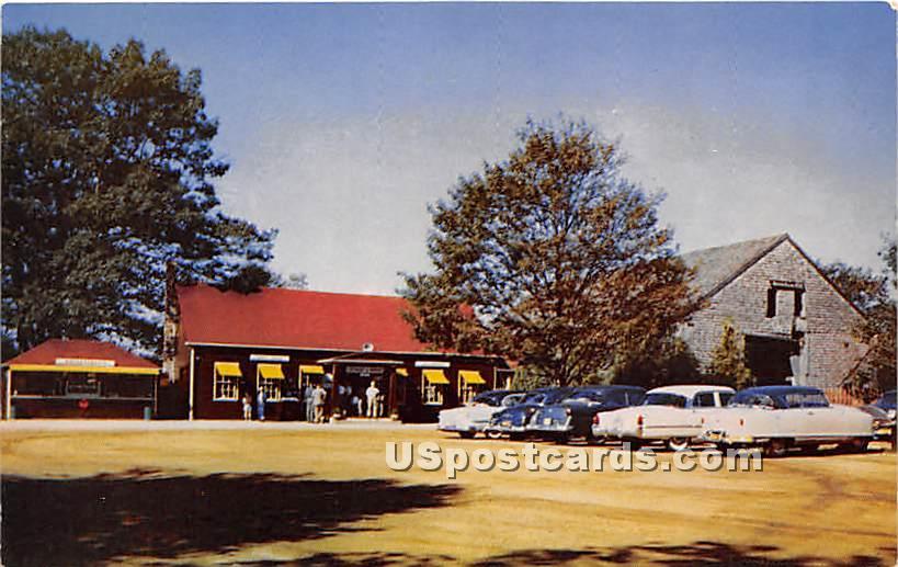 Desert of Maine - Freeport Postcard