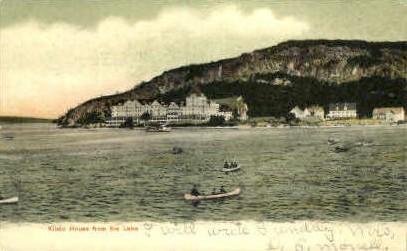 Kineo House - Guilford, Maine ME Postcard