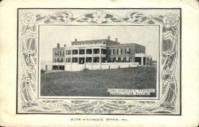 Leigh Chamberlin - Hebron, Maine ME Postcard
