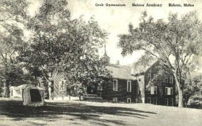 Cook Gymnasium, Hebron Academy - Maine ME Postcard