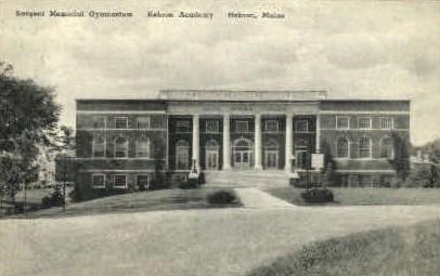 Hebron Academy - Maine ME Postcard
