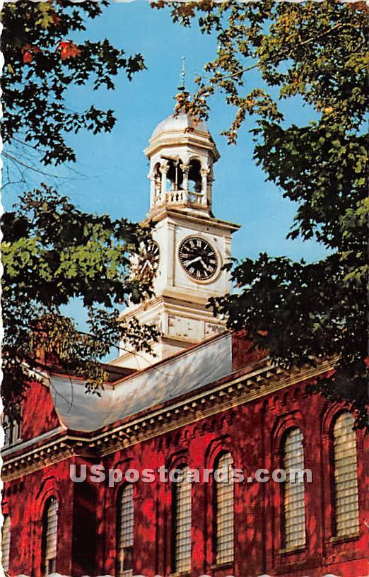 Court House - Houlton, Maine ME Postcard