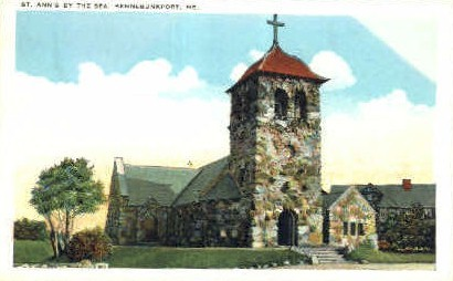 St. Ann's by the Sea - Kennebunkport, Maine ME Postcard