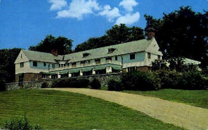 The House on the Hill - Kennebunkport, Maine ME Postcard