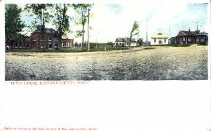 Town Hall - Kennebunkport, Maine ME Postcard