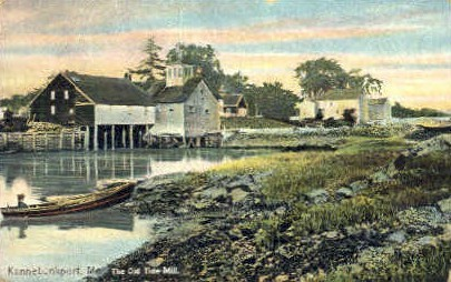 The Old Tide Mill - Kennebunkport, Maine ME Postcard