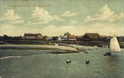 The Wading Place - Kennebunkport, Maine ME Postcard