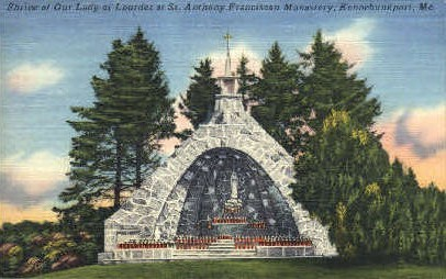 St. Anthony Franciscan Monastery - Kennebunkport, Maine ME Postcard