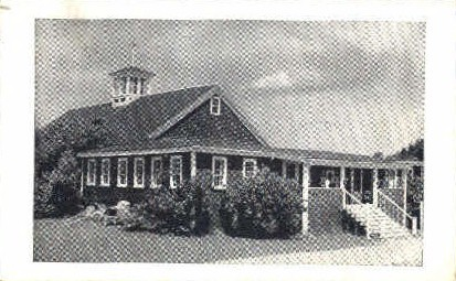Kennebunkport Playhouse - Maine ME Postcard