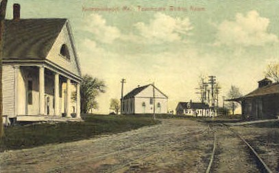 Townhouse Waiting Room - Kennebunkport, Maine ME Postcard