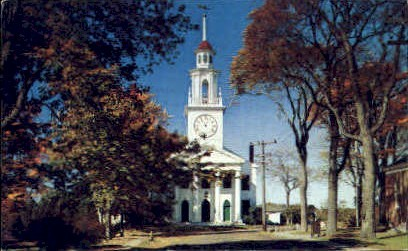 Congregational Church - Kennebunkport, Maine ME Postcard