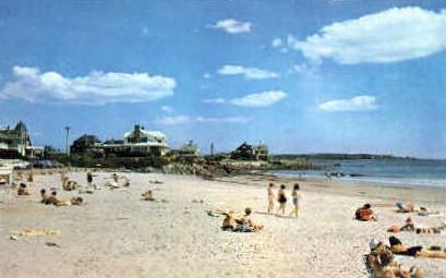 Kennebunk Beach - Maine ME Postcard