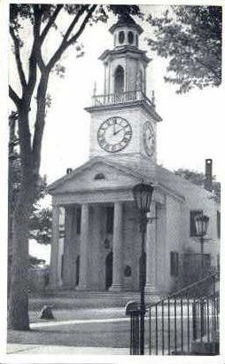 The South Congregational Church - Kennebunkport, Maine ME Postcard
