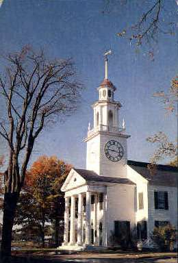 South Congregational Church - Kennebunkport, Maine ME Postcard