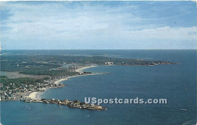 The Three Crescents - Kennebunkport, Maine ME Postcard