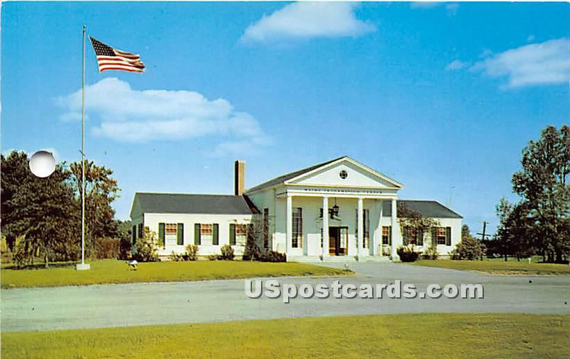 The New State of Maine Information Center at the Southern Entrance to the Pine Tree State - Kittery Postcard