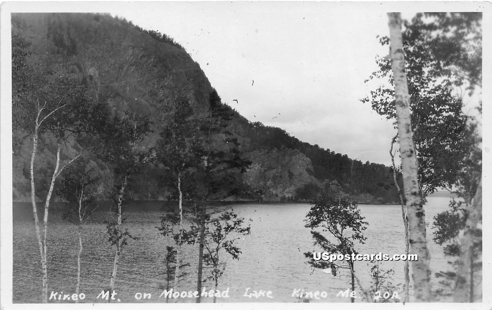 Kineo Mountain - Maine ME Postcard