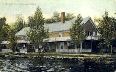 Lakewood Inn - Maine ME Postcard