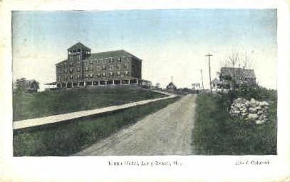 Iduna Hotel - Long Beach, Maine ME Postcard