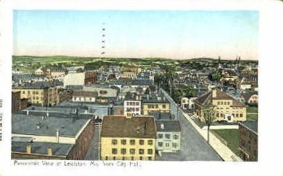 Lewiston, Maine, ME Postcard